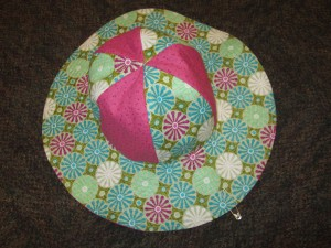 Reversible Sun Hat 1